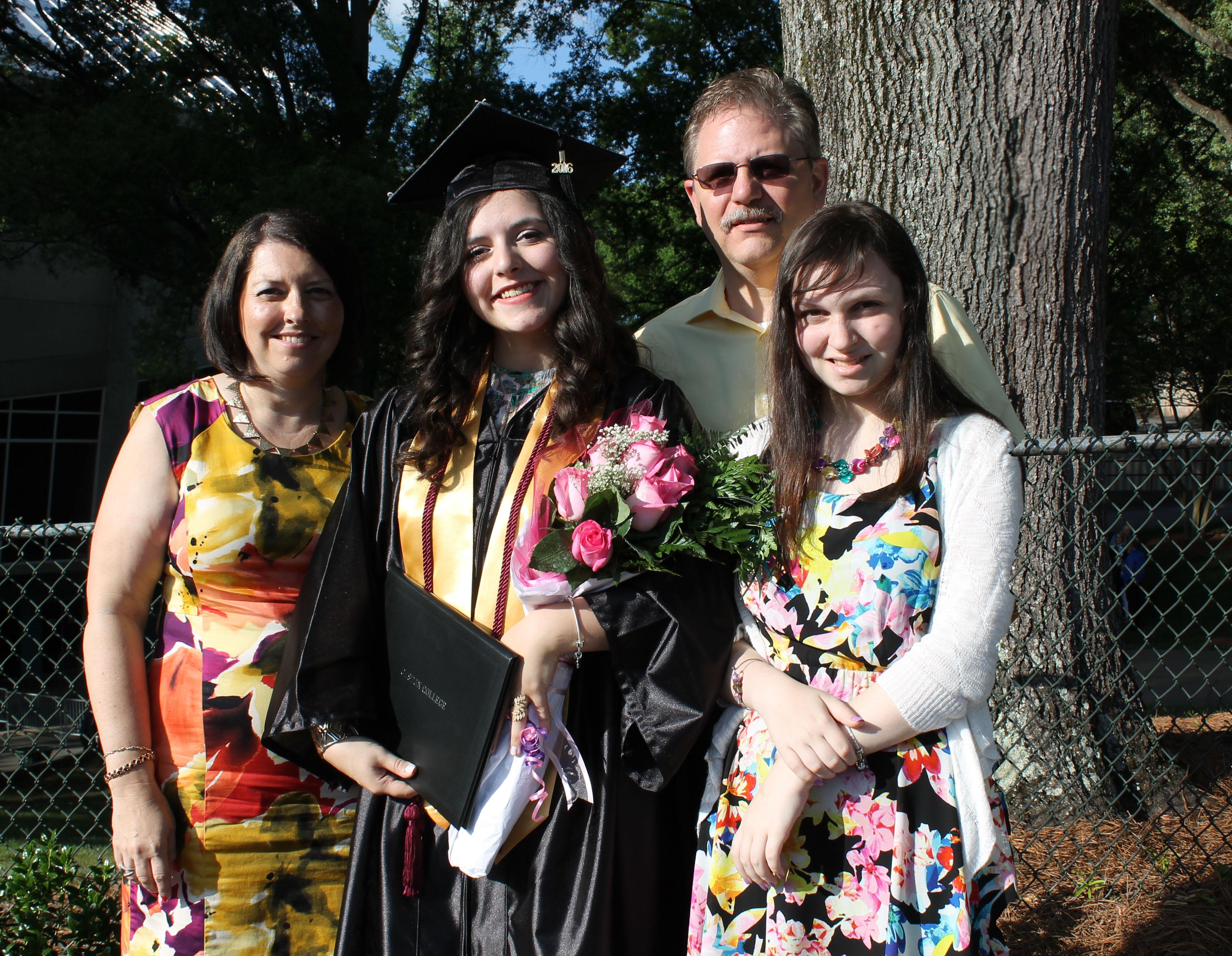 Family Gratuate Pic